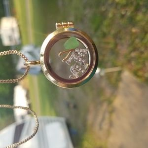 Handcrafted Necklace with Sea Glass